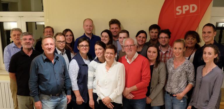 Foto der gewählten GR Kandidatinnen und Kandidaten